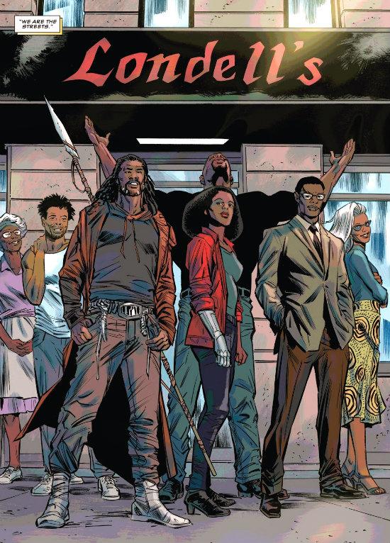 plano critico pantera negra e a gangue reunida no final da historia harlem negros plano critico