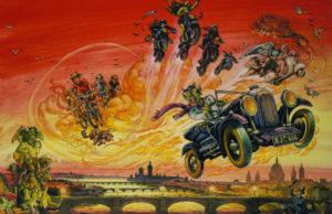 Belas Maldições As Justas e Precisas Profecias de Agnes Nutter, Bruxa, de Terry Pratchett e Neil Gaiman plano critico