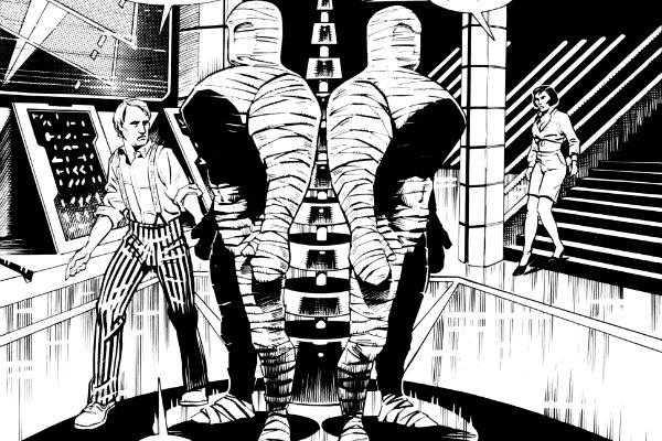 Doctor Who Magazine 228 - 230 plano critico the curse doctor who