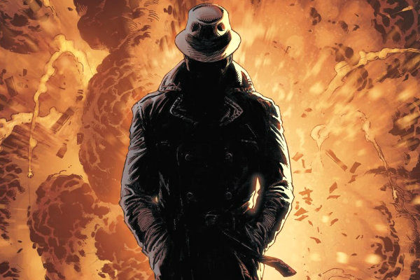 Doomsday Clock #4 Andar Sobre a Água plano critico dc comics