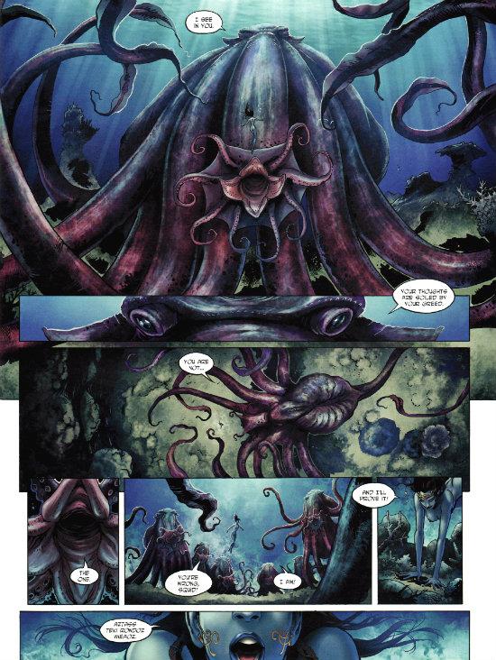 Elves #1 - The Blue Elves' Crystal (2013_3) - plano critico elfos o cristal dos elfos azuis