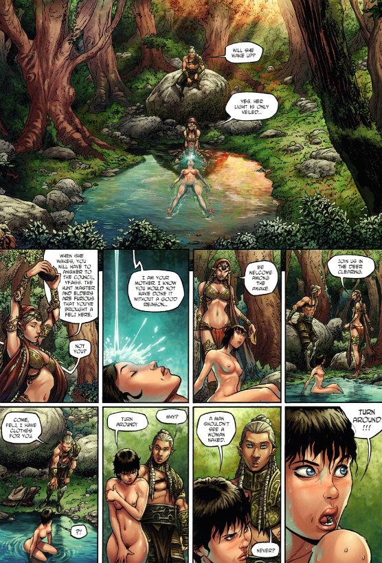 Elves #2 - The Wood Elves' Honor (2013_5) - plano critico elfos a honra dos elfos da floresta