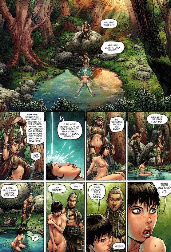 Elves #2 - The Wood Elves' Honor (2013_5) - plano critico elfos a honra dos elfos da floresta