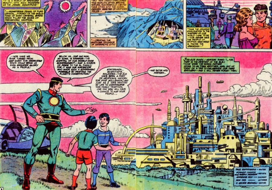 plano critico jor el e seus dois filhos plano critico krypton superman