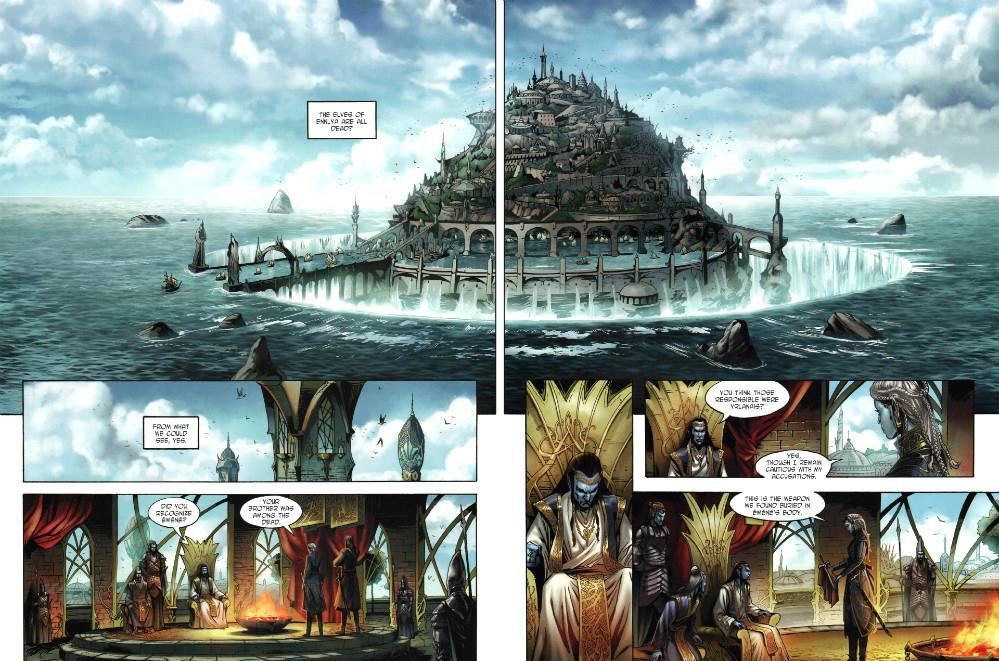 plano critico plano critico Elves #1 - The Blue Elves' Crystal (2013_3) - página 11