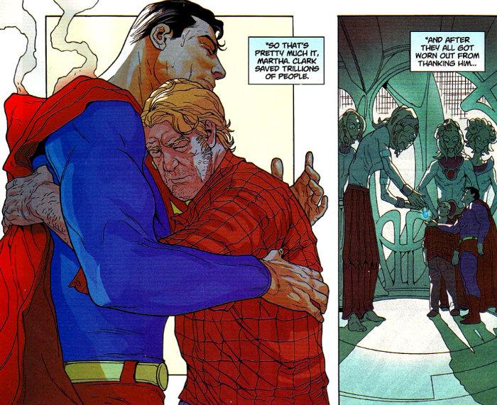 plano critico superman e j kent intermezzo ultimo filho plano critico