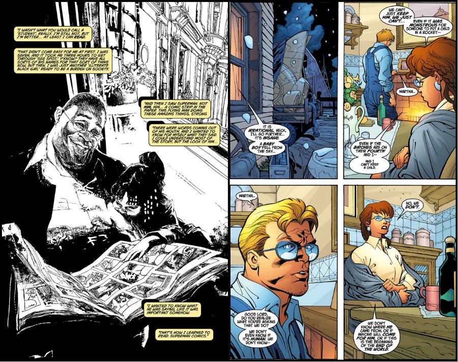 plano critico superman histórias de inspiração