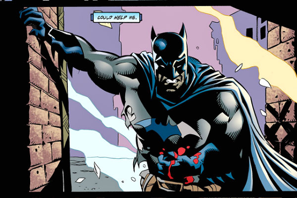 plano critico Batman Legends of the Dark Knight #114 plano critico