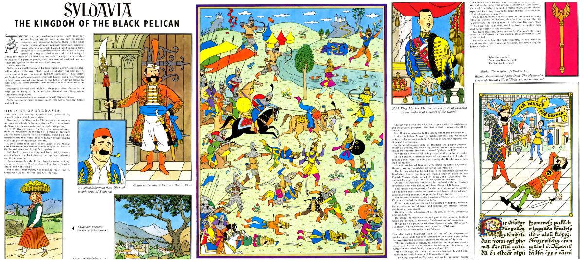 plano critico história da sildávia tintim
