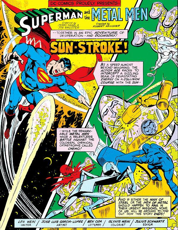plano critico superman e os homens metálicos ataque ao sol plano critico