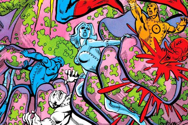 plano critico superman e os homens metálicos dc comics presents
