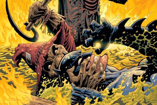 terror plano critico Batman Legends of the Dark Knight #137 - 141 plano critico