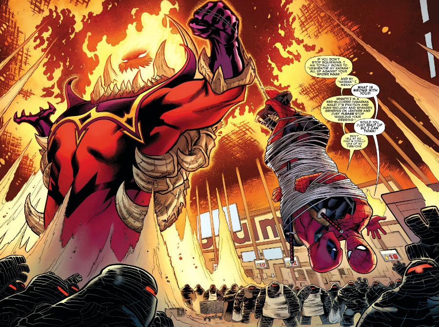Homem-Aranha & Deadpool Amor de Irmão Tá Valendo Mais plano critico plano critico
