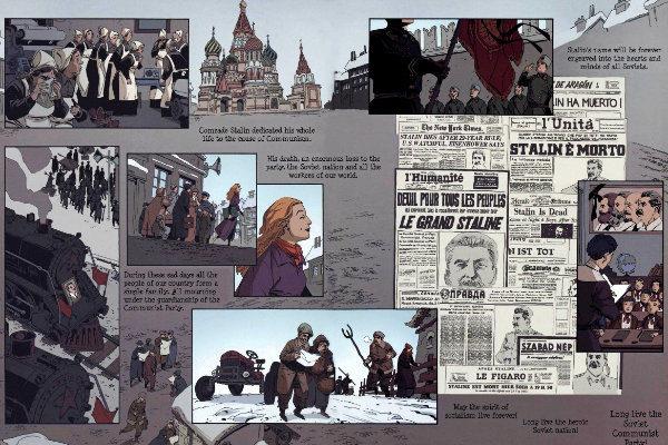 The Death of Stalin - plano critico a morte de stálin quadrinhos plano critico