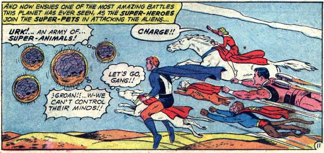 plano crítico legião dos super-pets
