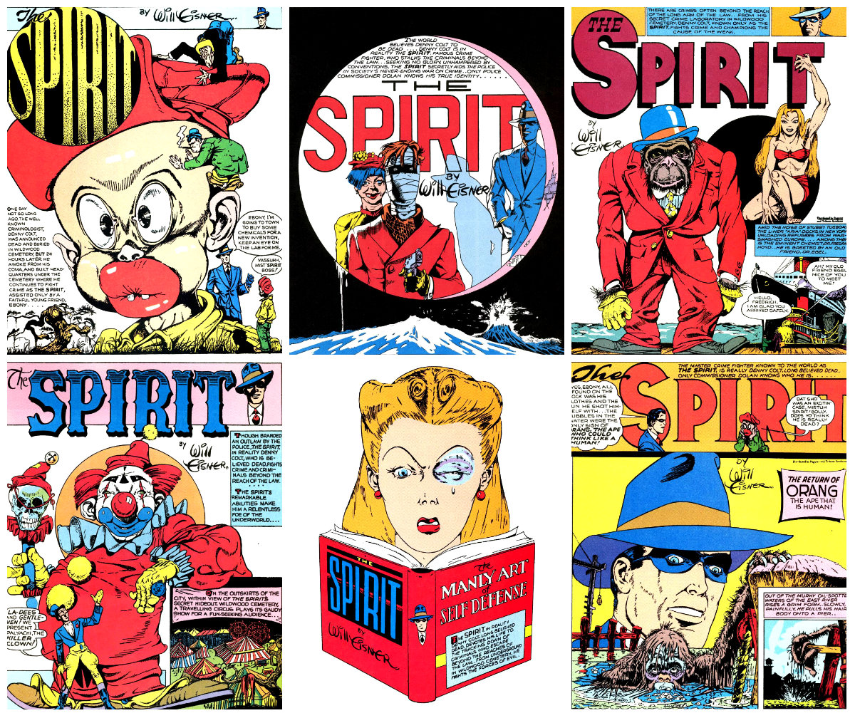 plano critico 1940 Will Eisner The Spirit