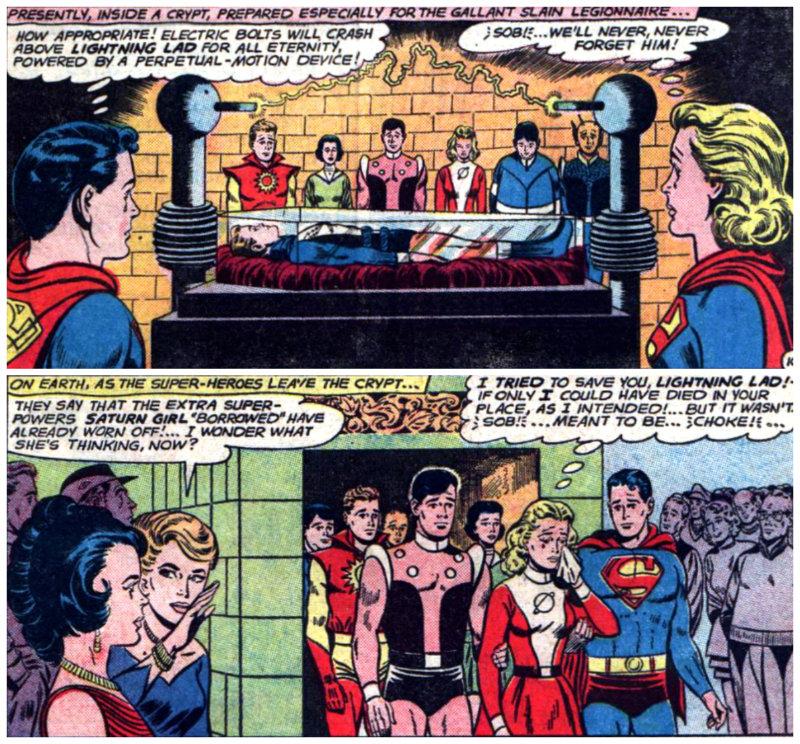 plano critico a morte de relampago legião dos super heróis plano critico