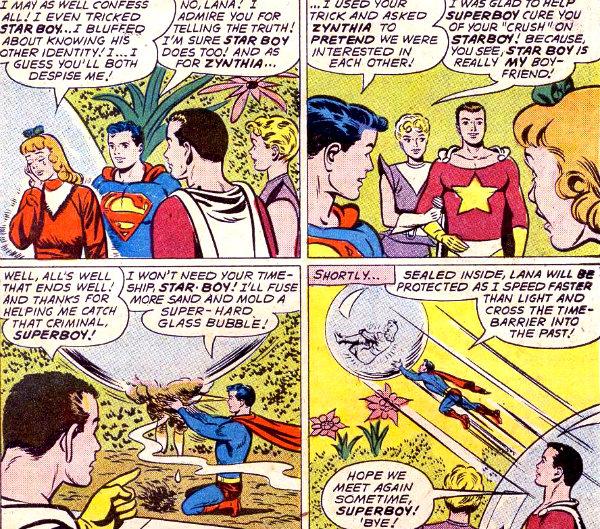 plano critico superboy lana lang e a legião dos super-heróis plano critico