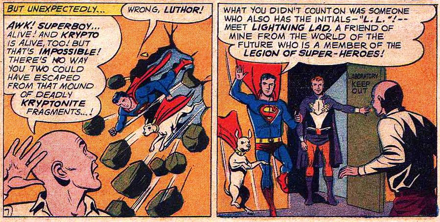 plano critico superboy relampado krypto e luthor plano critico
