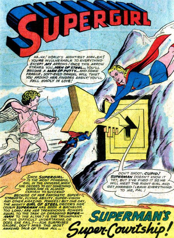 plano critico supergirl e cupido legião dos super-heróis