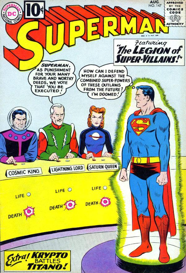 plano critico superman e a legião dos super-vilões plano critico dc comics