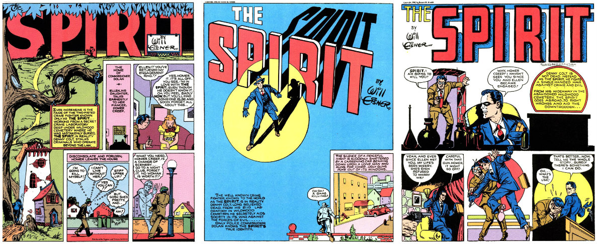 plano critico the spirit quadrinhos eisner