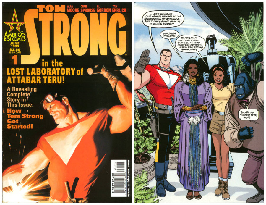 plano critico tom strong familia alan moore