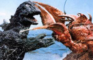 Godzilla vs. Ebirah plano critico Ebirah, Terror dos Abismos (1966) plano critico