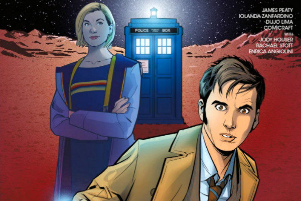 plano critico Doctor Who The Road to the Thirteenth Doctor #1 The Ghost Ship Tenth Doctor Special plano critico