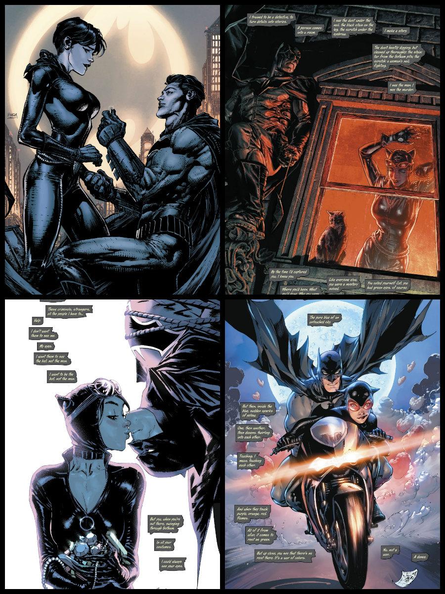 plano critico batman e mulher gato o casamento batman 50 plano critico dc comics plano critico