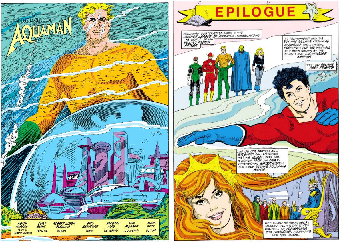 A Lenda de Aquaman Maré de Batalha plano critico origem