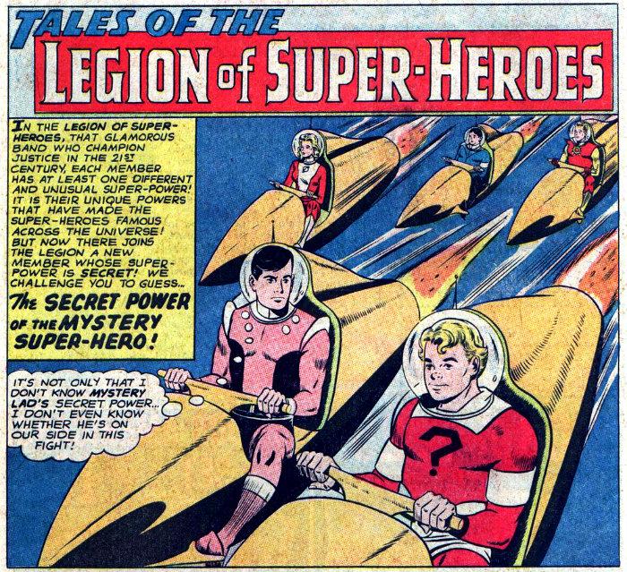 plano critico O Poder Secreto do Super-Herói Misterioso legião dos super heróis
