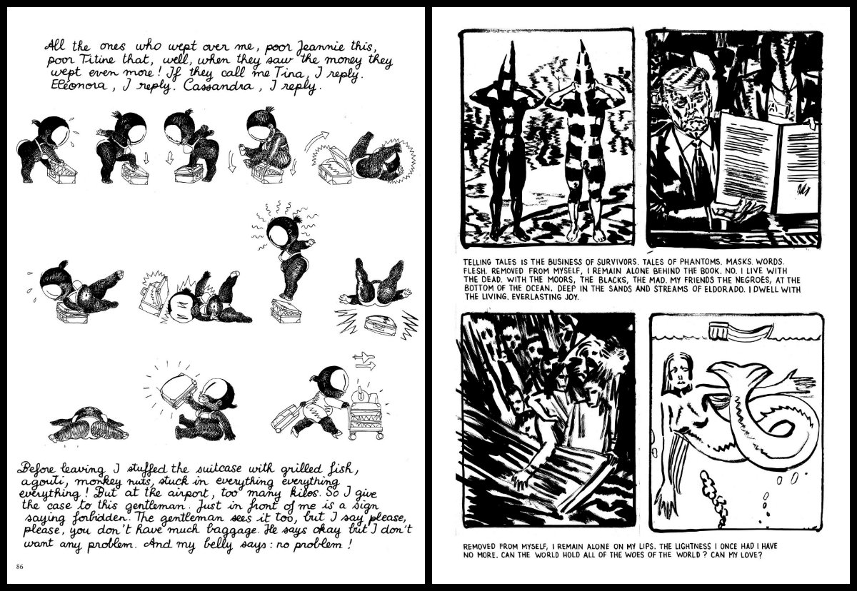 plano critico Yellow Negroes and Other Imaginary Creatures parte 2
