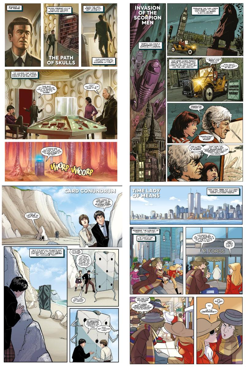 plano critico as muitas vidas de doctor who plano critico 13ª Doutiora quadrinhos