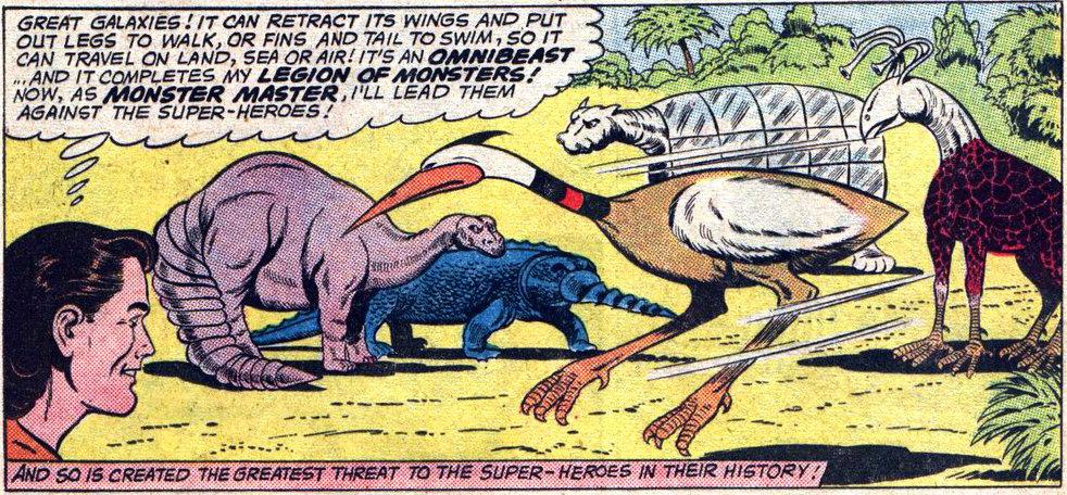 plano critico legião dos super monstros