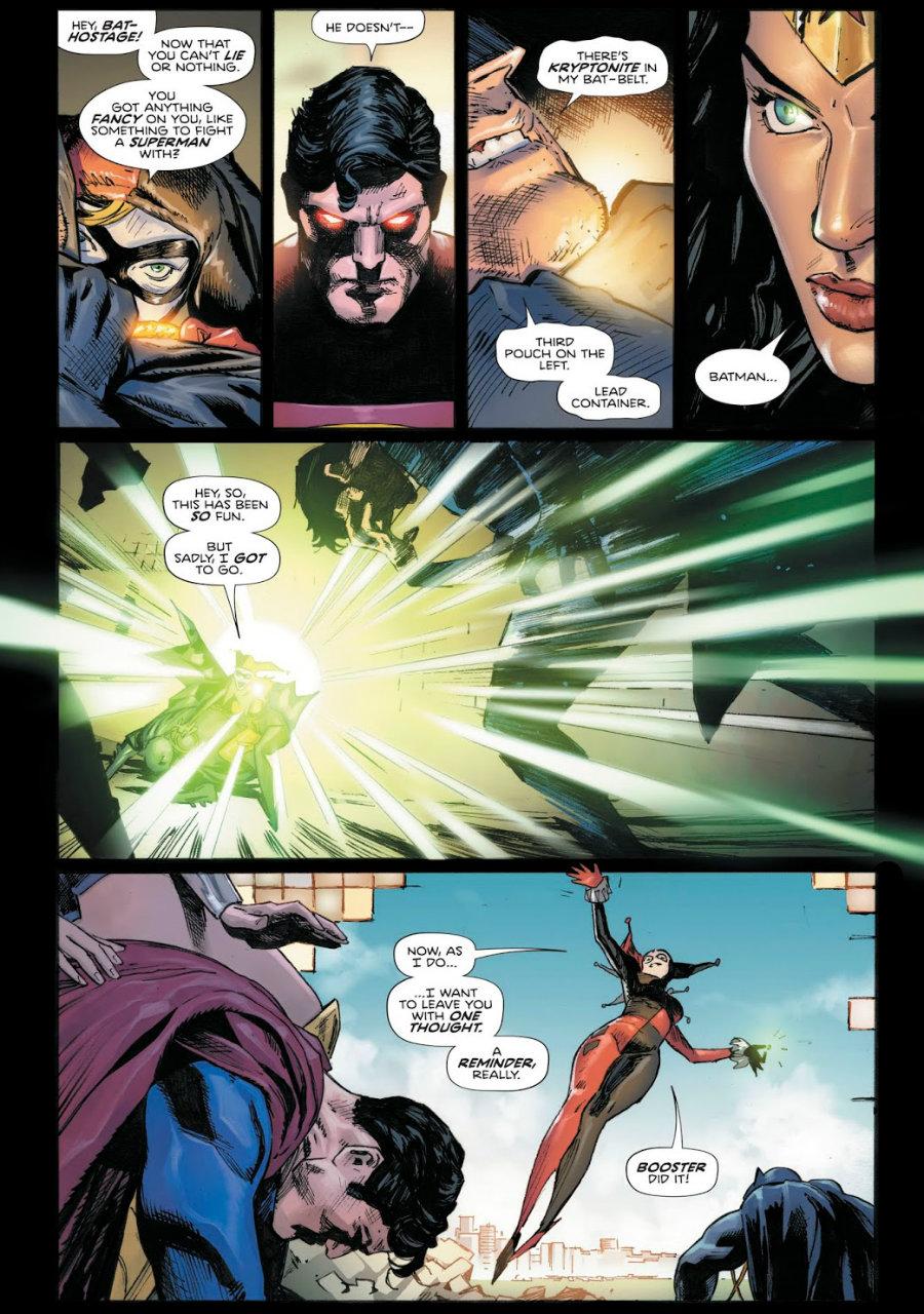 plano critico arlequina batman superman mulher maravilha heróis em crise