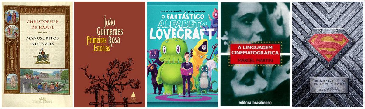 cinco primeiros livros luiz santiago plano critico lista