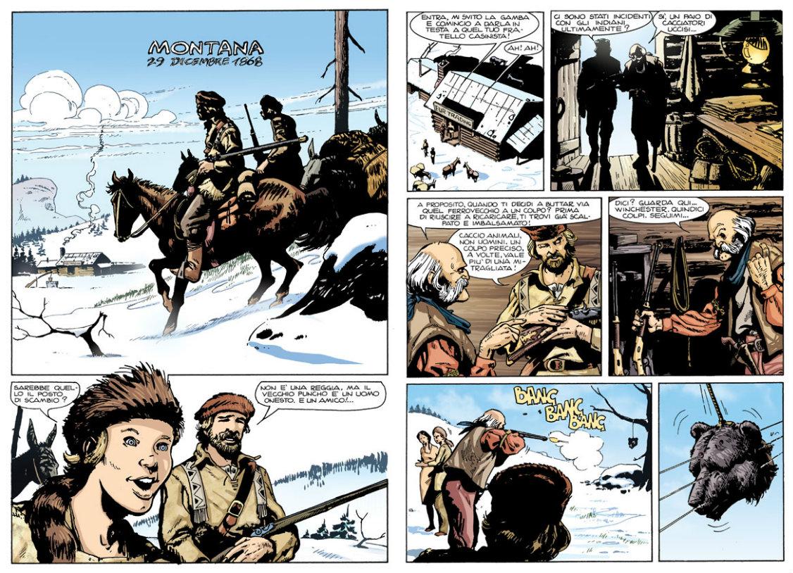 plano critico ken parker western o rifle comprido