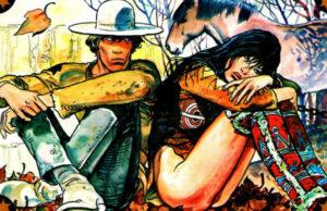 Milo Manara - Quatro Dedos - o homem de papel plano critico manara