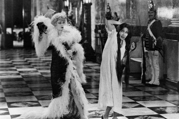 Queen Kelly minha rainha plano critico filme 1929 Erich von Stroheim
