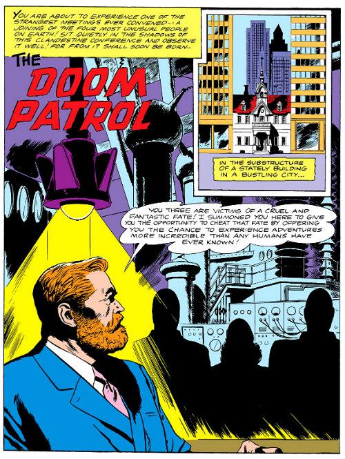 o chefe e a patrulha do destino plano critico primeira edição