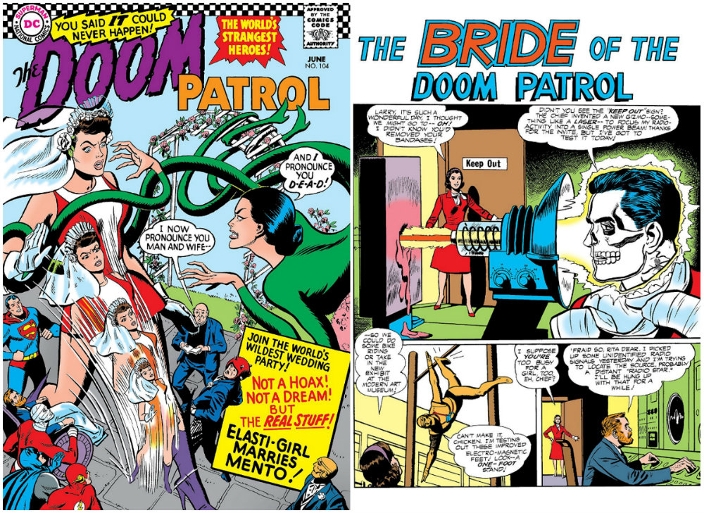 plano critico The Bride of the Doom Patrol patrulha do destino