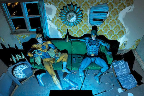 sangue no caminho heróis em crise plano critico dc comics