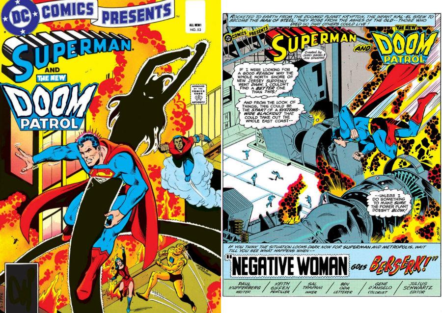 dc comics presents plano critico superman e patrulha do destino