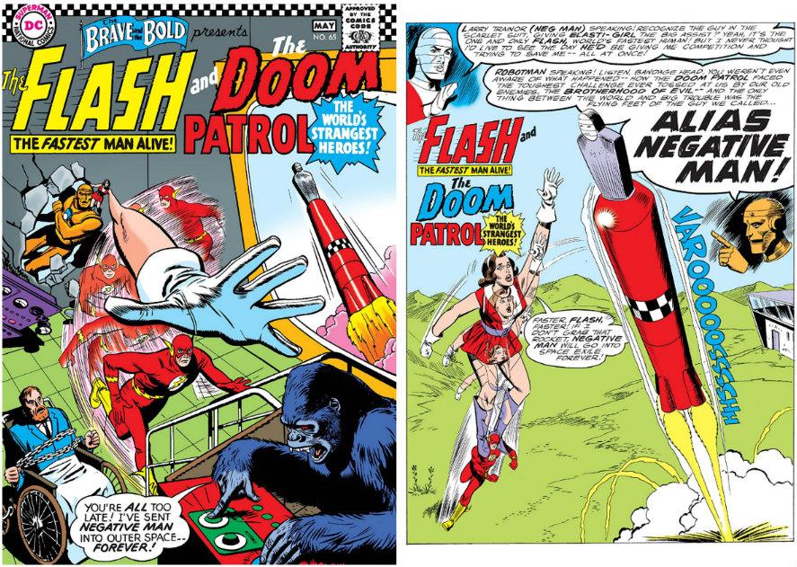 flash e a patrulha do destino plano critico brave and the bold