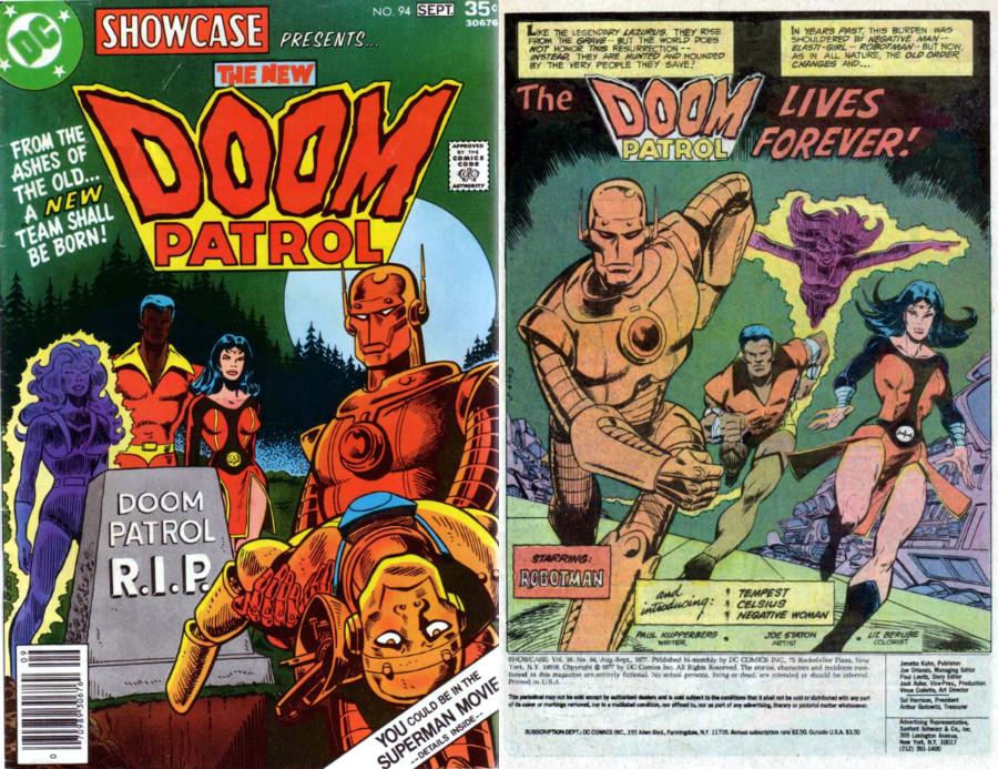 plano critico a nova patrulha do destino DC Comics