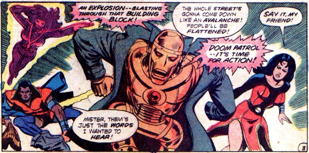 plano critico doom patrol patrulha do destino supergirl