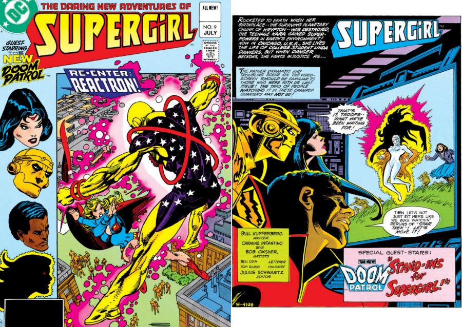 supergirl doom patrol 1983