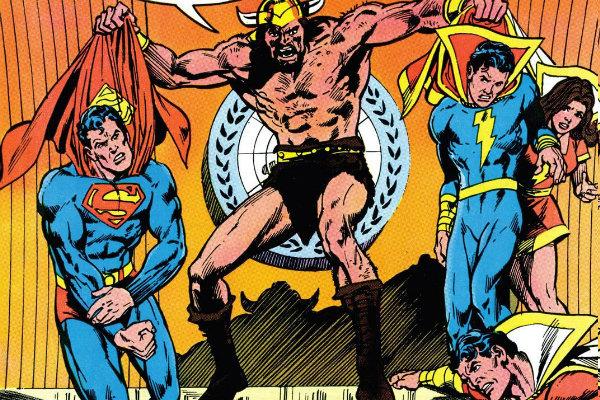 PLANO CRÍTICO SUPERMAN SHAZAM FAMÍLIA MARVEL PLANO CRÍTICO 1981