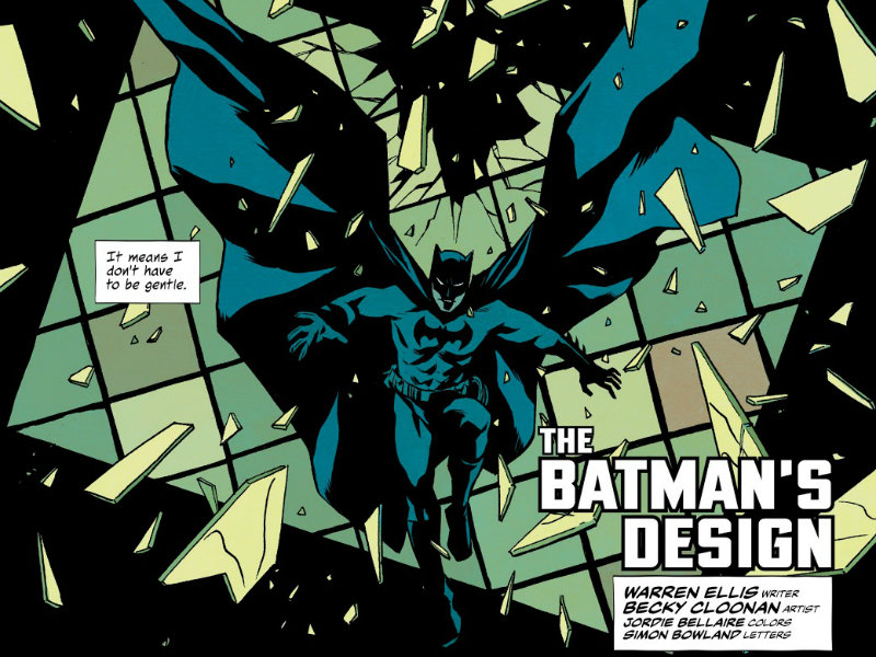 The Batman's Design plano critico batman